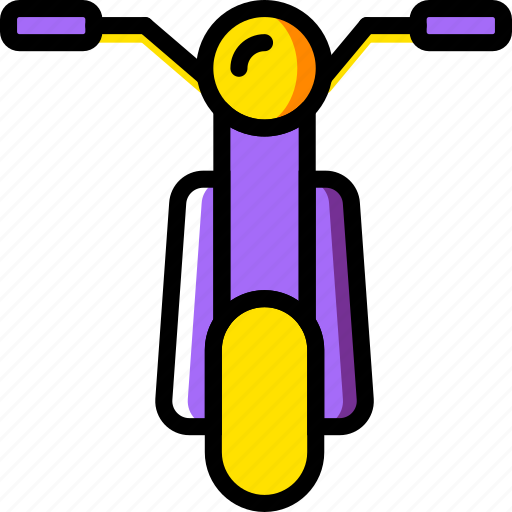 moped, transport, vehicle icon