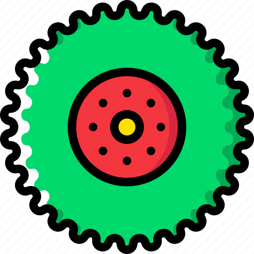 tractor, transport, vehicle, wheel icon