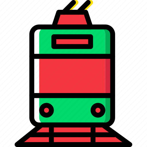 Tram, transport, vehicle icon - Download on Iconfinder