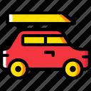 car, family, transport, vehicle icon