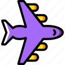 plane, transport, vehicle icon