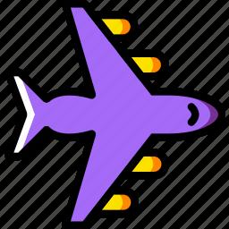 plane, transport, vehicle icon