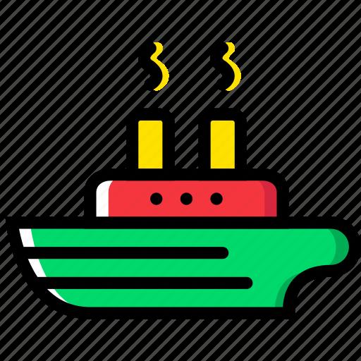 ship, transport, vehicle icon