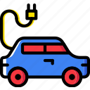 car, electric, transport, vehicle