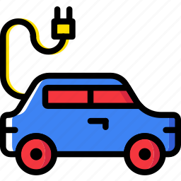 car, electric, transport, vehicle icon