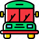 bus, school, transport, vehicle icon