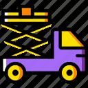 car, lifter, transport, vehicle