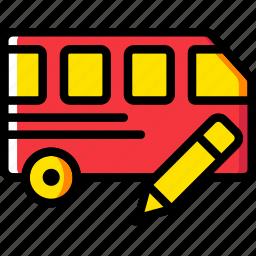 car, edit, transport, vehicle icon