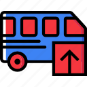 car, transport, upload, vehicle icon