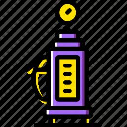 gas, station, transport, vehicle icon