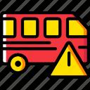 car, transport, vehicle, warning