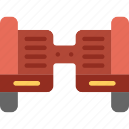 hoverboard, transport, vehicle icon
