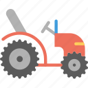 tractor, transport, vehicle