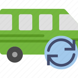 car, sync, transport, vehicle icon