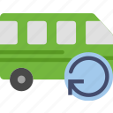 car, refresh, transport, vehicle icon