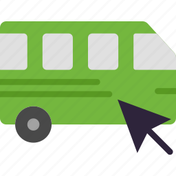 car, click, transport, vehicle icon