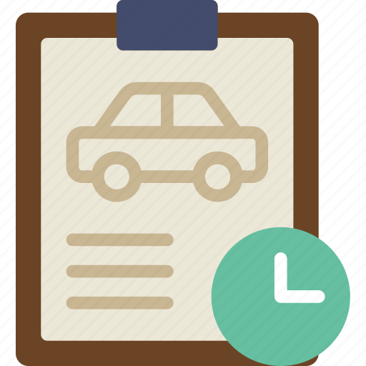 car, details, for, transport, vehicle, wait icon