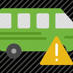 car, transport, vehicle, warning icon