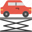 car, lift, transport, vehicle icon