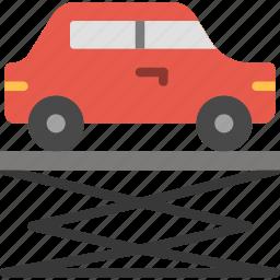 car, lift, transport, vehicle icon