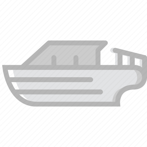boat, speed, transport, vehicle icon