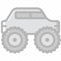 monster, transport, truck, vehicle icon