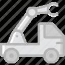 car, crane, transport, vehicle