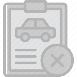car, delete, details, transport, vehicle icon