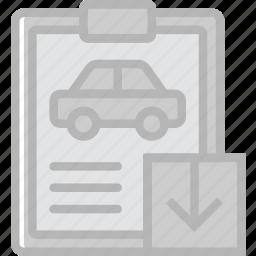 car, details, download, transport, vehicle icon