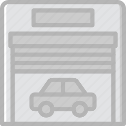 car, garrage, transport, vehicle icon