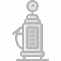 gas, station, transport, vehicle icon