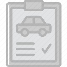 car, inspection, transport, vehicle icon