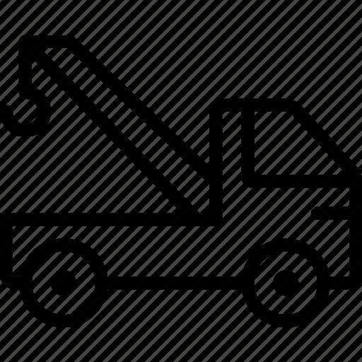 auto, car, crane, transport, vehicle icon