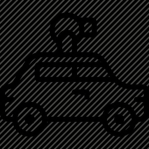 maps, transport, vehicle icon