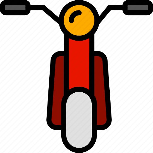 Moped, transport, vehicle icon - Download on Iconfinder