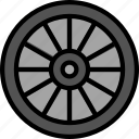 car, rim, transport, vehicle icon