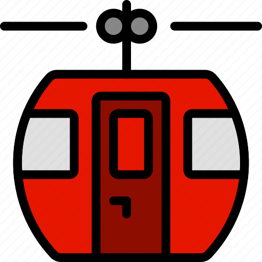 cable, car, transport, vehicle icon