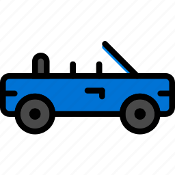 car, sports, transport, vehicle icon