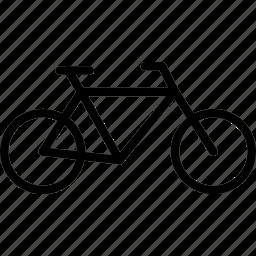 bike, transport, vehicle icon