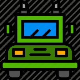 transport, truck, vehicle icon