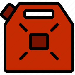 can, jerry, transport, vehicle icon