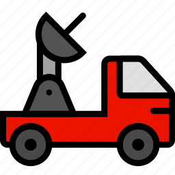 car, television, transport, vehicle icon