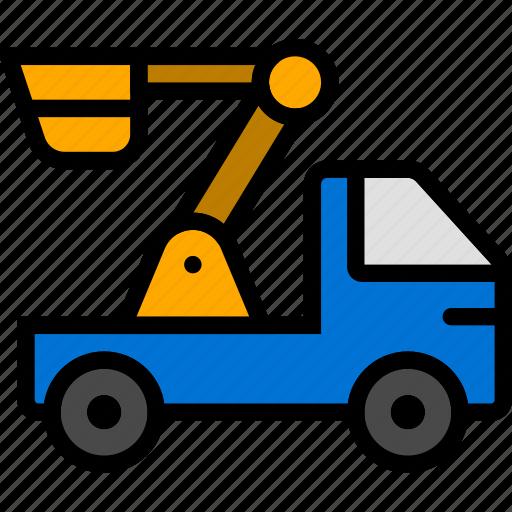 Car, crane, transport, vehicle icon - Download on Iconfinder