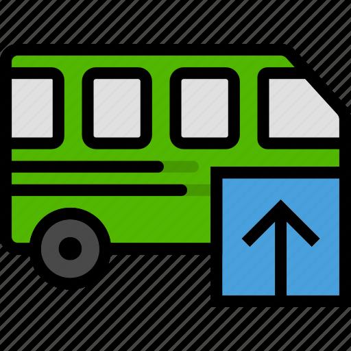 car, transport, upload, vehicle icon