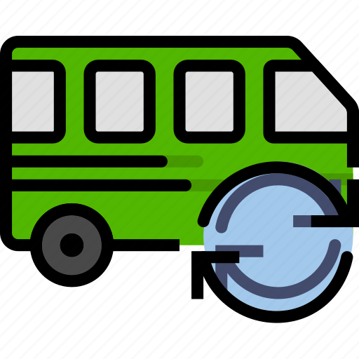 car, sync, transport, vehicle icon