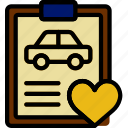 car, details, like, transport, vehicle icon