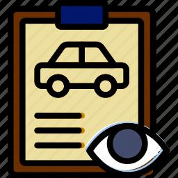 car, details, hide, transport, vehicle icon