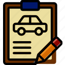 car, details, edit, transport, vehicle icon