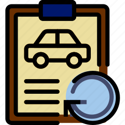 car, details, refresh, transport, vehicle icon
