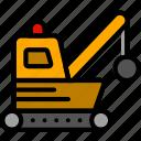 demolisher, transport, vehicle